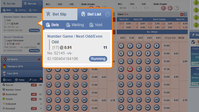 Hướng dẫn cách chơi Number Game - How to Bet (Number Game - Cách chơi)